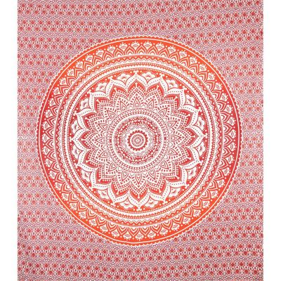 Bed cover Mandala – red