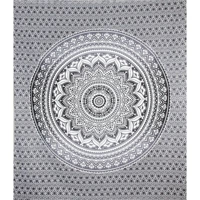 Bed cover Mandala – grey
