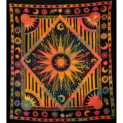 Bed cover Space – varicoloured 2