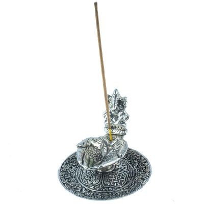 Incense holder Palms and Ganesh