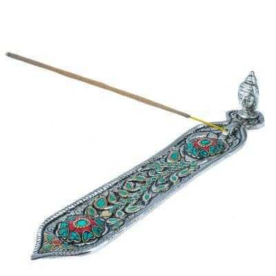 Metal incense holder Buddha's head – turkit