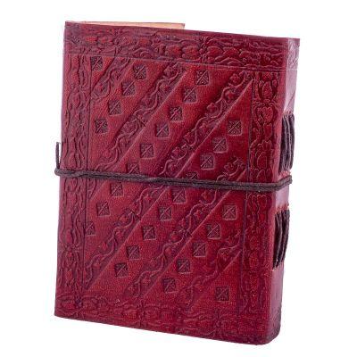Leather notebook Ohm India
