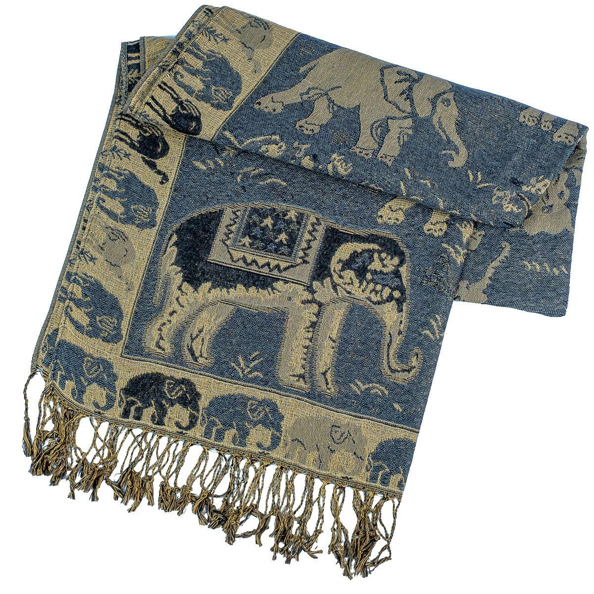 Pashmina scarf Nima Daiva Thailand