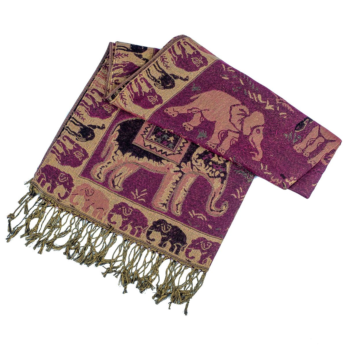 Pashmina scarf Nima Macaria Thailand