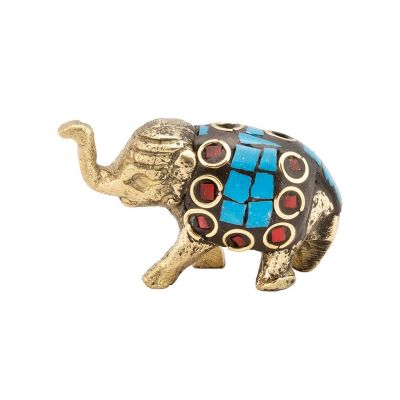Incense holder Decorated baby elephant 4