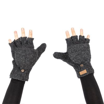 Gloves Butwal Dark Grey