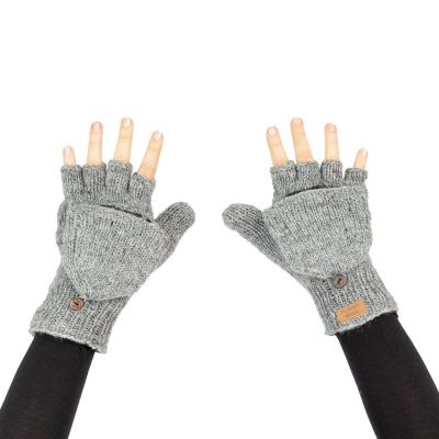 Gloves Butwal Medium Grey