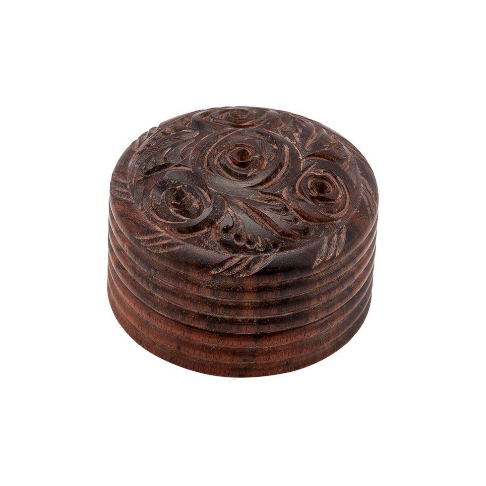 Carved grinder Rose India