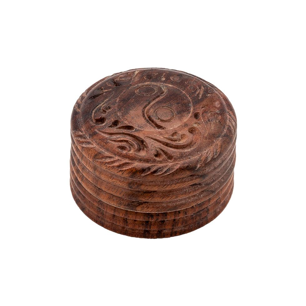 Carved grinder Yin&Yang India
