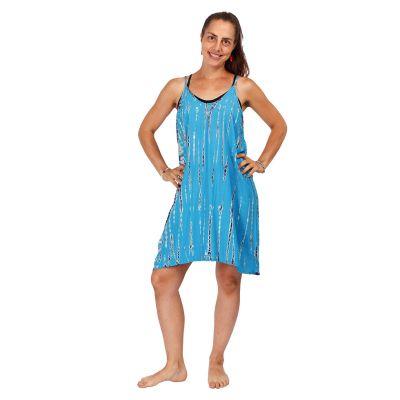 Tie-dye dress Gajra Cyan   UNI