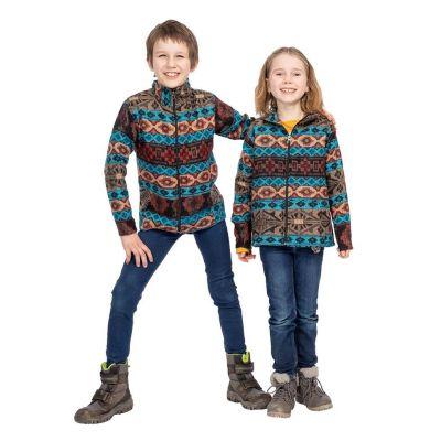 Ethnic children's jacket Sanjona Biru | 2 - 4 years, 4 - 6 years, 6 - 8 years, 8 - 10 years, 10 - 12 years