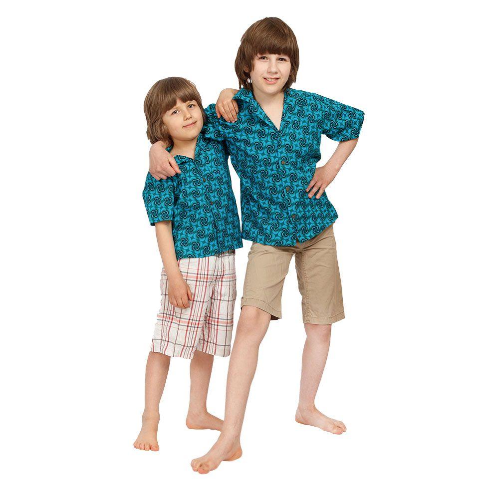 "Children's ""Hawaiian shirt"" Nihoa India"