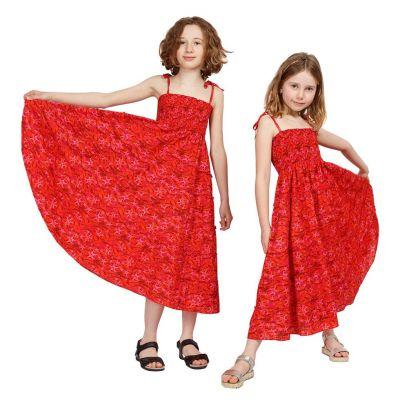 Child dress Mawar Red Sea | 3-4 years, 4-6 years, 8-10 years, 10-12 years, 12-14 years