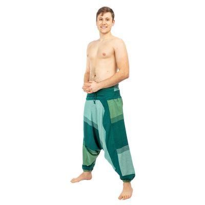 Harem trousers Telur Green Nepal