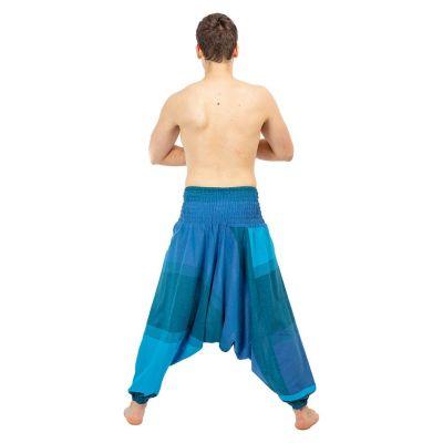 Harem trousers Telur Turquoise Nepal