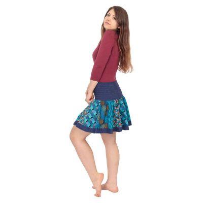 Round mini skirt Karishma Snazzy India
