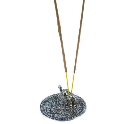 Metal incense sticks holder Elephant