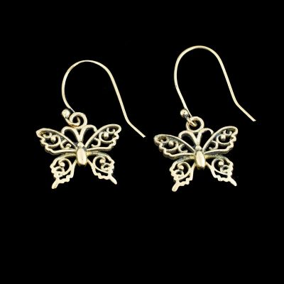 Earrings Butterflies