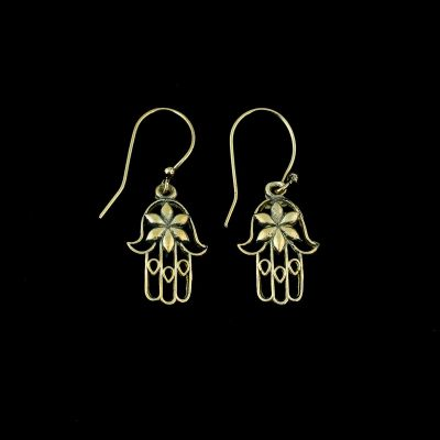 Earrings Hand of Fatima
