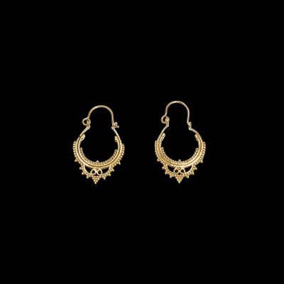 Brass earrings Khalifa | medium, LAST 2 PAIRS!, small, LAST 2 PAIRS!