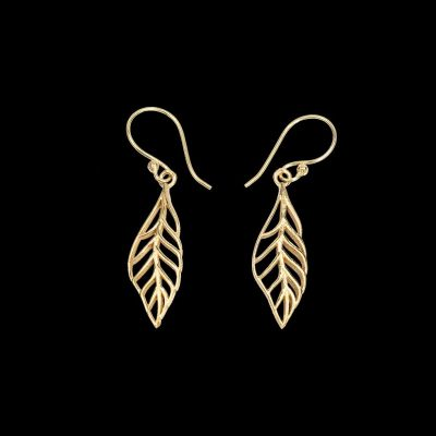 Earrings Little Leaf