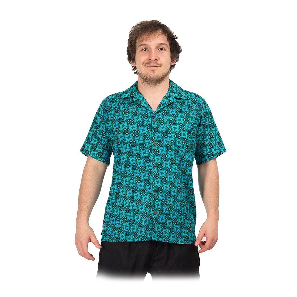 """Men's """"Hawaiian shirt"""" Nihoa India"""
