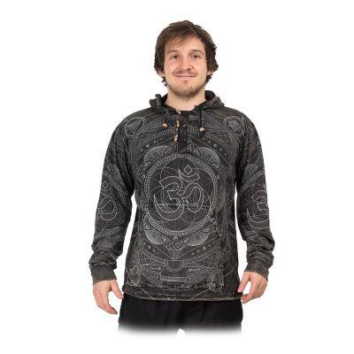 Men's hooded tricot Baskar Hitam | S, M, L, XL, XXL, XXXL