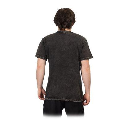 Men's t-shirt Yin&Yang Tree Black Nepal