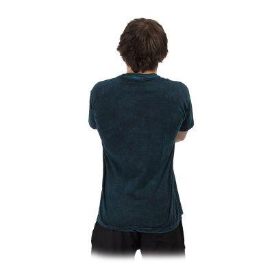 Men's t-shirt Yin&Yang Tree Blue Nepal