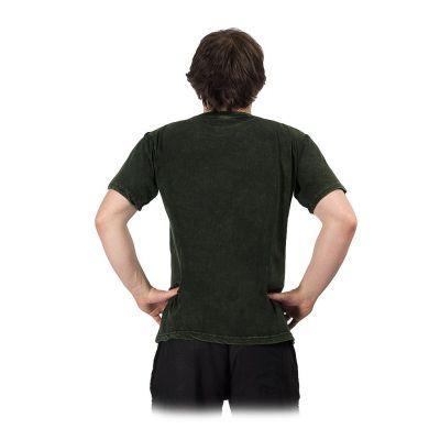 Men's t-shirt Yin&Yang Tree Green Nepal