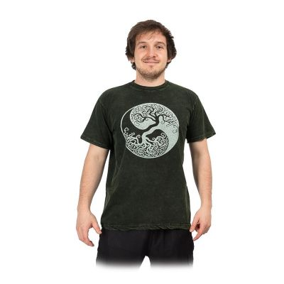 T-shirt Yin&Yang Tree Green