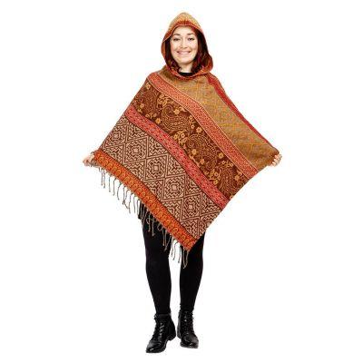 Hooded poncho Kimaya Reti | UNI