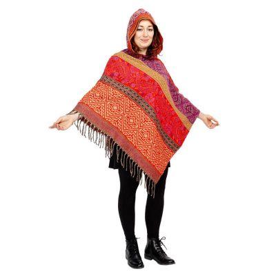 Hooded poncho Kimaya Smita | UNI