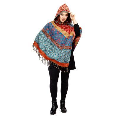 Hooded poncho Kimaya Vayu | UNI