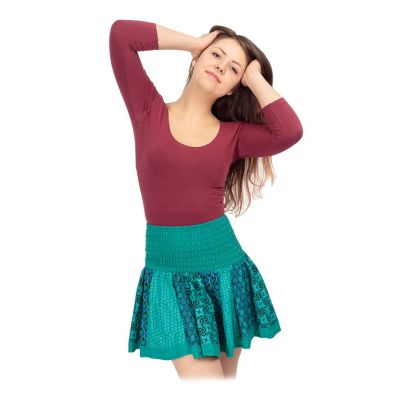 Round mini skirt Karishma Estuary India