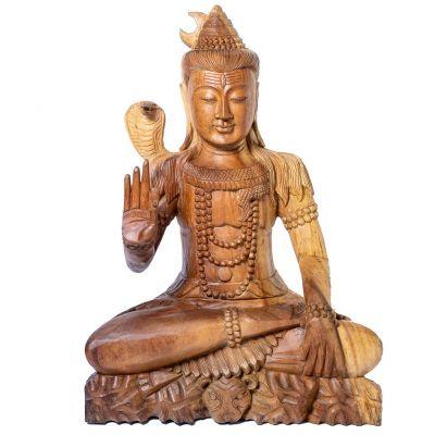 Statue Sitting Shiva