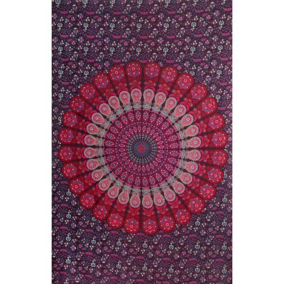 Cotton bed cover Blueberry Dream
