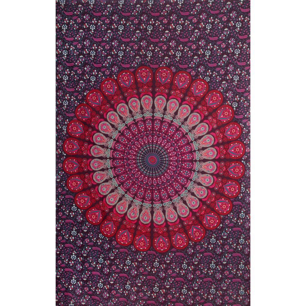 Cotton bed cover Blueberry Dream India