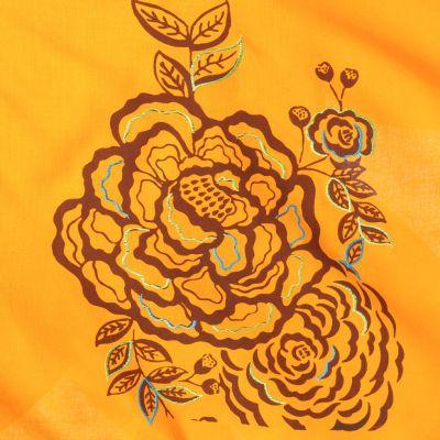 Pointed skirt with elastic waist Tasnim Mustard Nepal