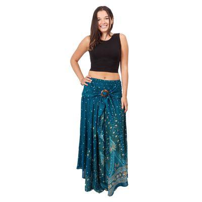 Long skirt with coconut buckle Kelapa Djamila Thailand