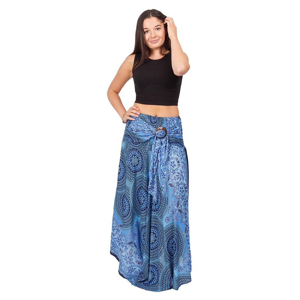 Long skirt with coconut buckle Kelapa Kiet Thailand