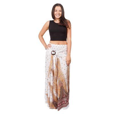 Long skirt with coconut buckle Kelapa Zahra Thailand