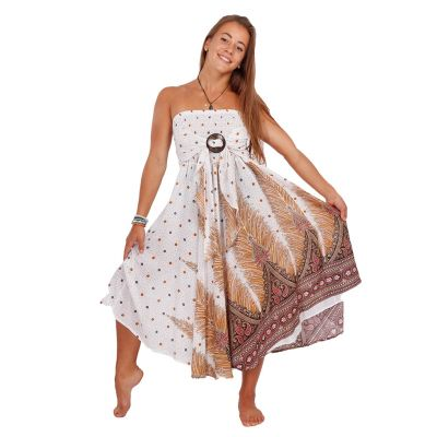 Long skirt with coconut buckle Kelapa Zahra | UNI