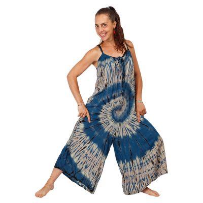 Long tie-dye jumpsuit Sonali Blue | UNI