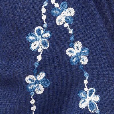 Embroidered sultan trousers Sabuk Biru Nepal