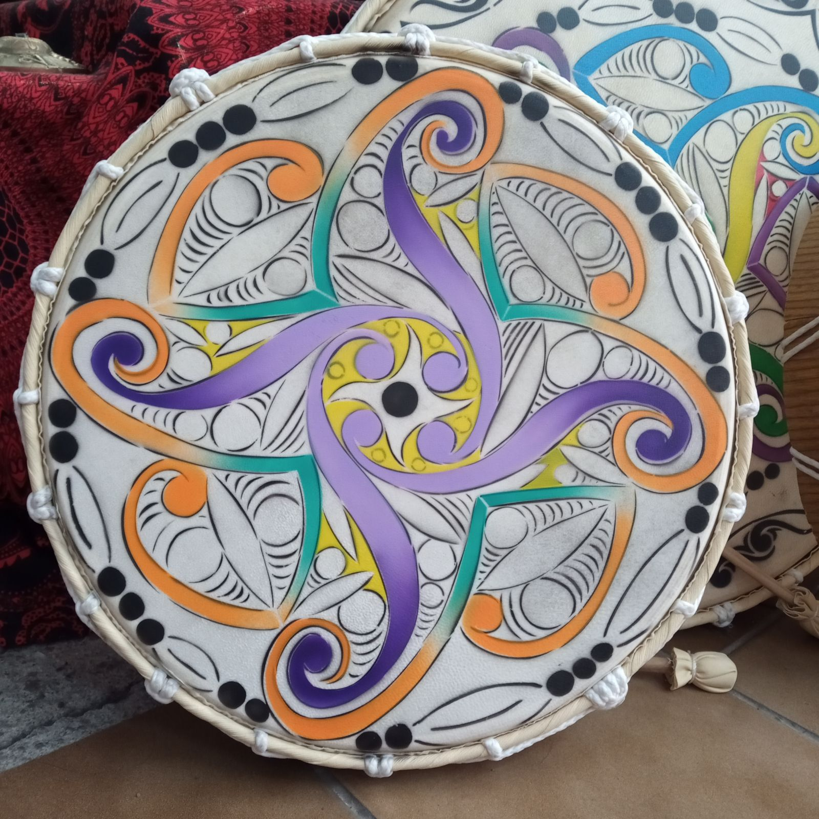 Celtic frame drum Indonesia
