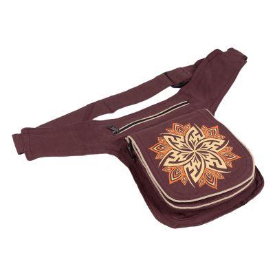Money belt Lotus Brown