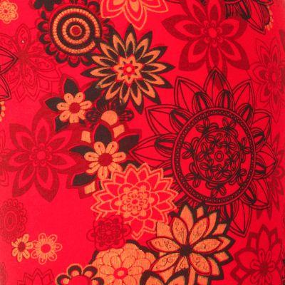 Printed leggings Aravind Red Nepal