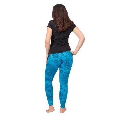 Printed leggings Mandala Blue Nepal