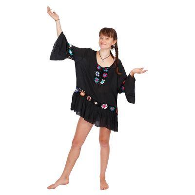 Summer blouse Vera Black | UNI